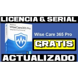 Licencias Wise Care 365 Pro [JUNIO 2020]
