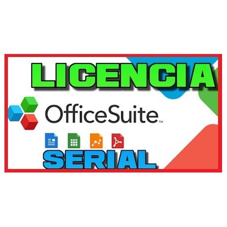 Licencias MobiSystems OfficeSuite Personal [JUNIO 2020]