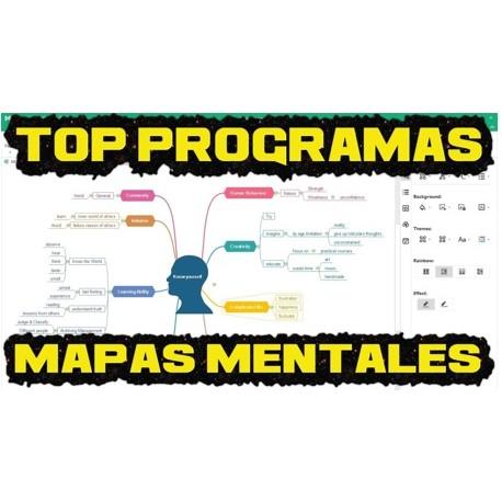 Mejores Programas para hacer Mapas Mentales【 JULIO 2020】