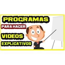 Mejores Programas para hacer Videos Explicativos【AGOSTO 2020】