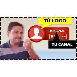 Como hacer una animación de botón suscríbete con tu logo para tus videos