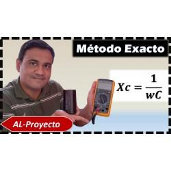 Como medir la capacitancia de un condensador