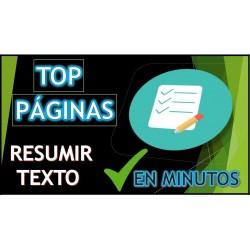 MEJORES PAGINAS PARA RESUMIR TEXTOS