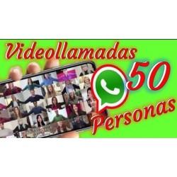 COMO HACER VIDEOLLAMADAS CON 50 PERSONAS EN WHATSAPP