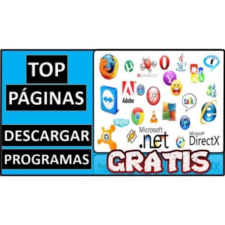 Páginas para descargar programas gratis