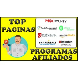 MEJORES PAGINAS CON PROGRAMA DE AFILIADO