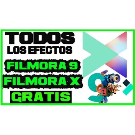 Todos los Efectos para Filmora 9【2019】