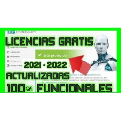 Licencias Eset Smart Security y Nod32 Antivirus 8/9/10/11/12/13/14 [ENERO 2021] ACTUALIZADO