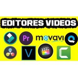MEJORES EDITORES DE VIDEOS GRATIS 2021