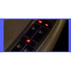 Tuning Chery Orinoco - Luces led para el panel de control de ventanas
