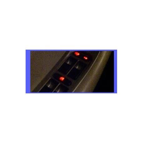Luces led para el panel de control de ventanas del Chery Orinoco