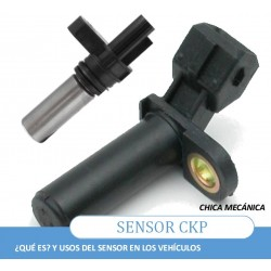 How the CKP sensor works