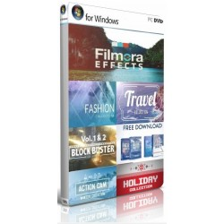 Full Pack with all effects Filmora