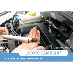 How to change spark plugs to the Chery Orinoco A3