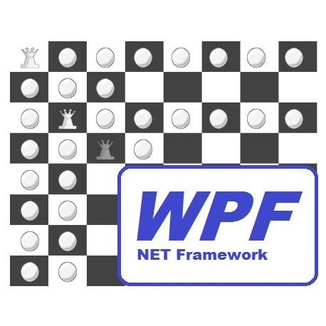 Problema de las 8 reinas en VB.NET y CSharp en WPF