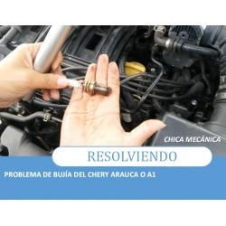 Problema de bujía en Chery Arauca o A1
