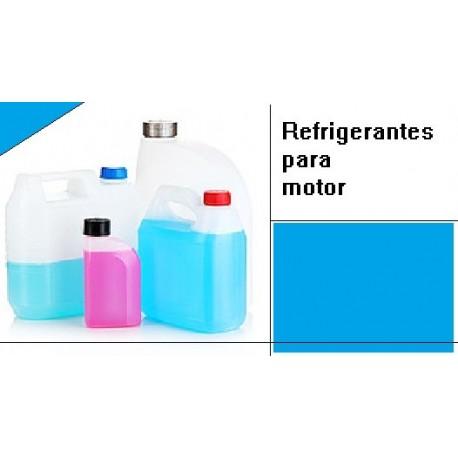 El refrigerante del motor