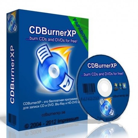CDBurnerXP ultima version