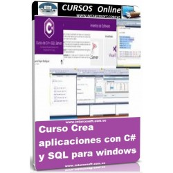 Create applications with C and SQL for windows