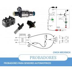 Probadores sensores caseros