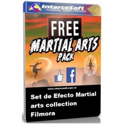 Set de Efecto Martial arts collection Filmora