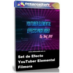 Filmora Elemental YouTuber Effect Set