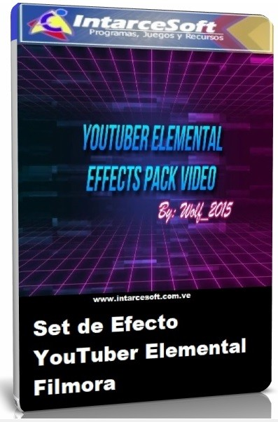 YouTuber Elemental Filmora Effect Set-Free download