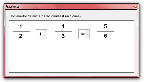programa para calcular fracciones en visual basic