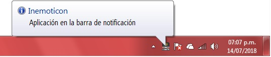 inemoticon icono notificacion